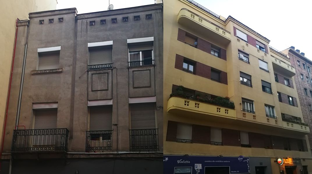 Madrid Art Decó en distrito Chamberí