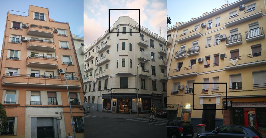 Madrid Art Decó en la calle Maudes de Chamberí
