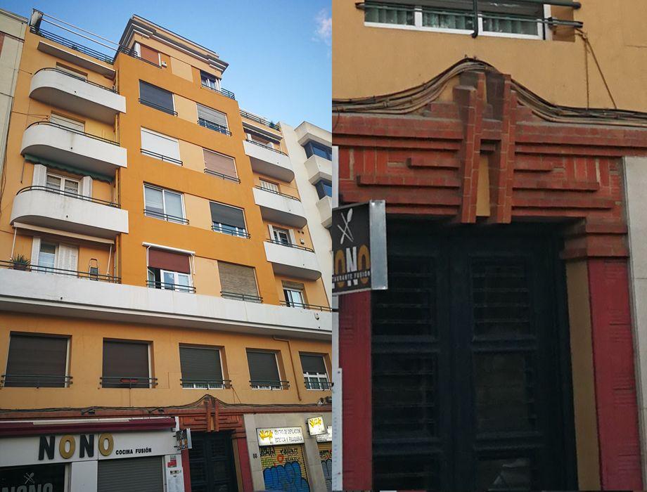 Madrid Art Decó en la calle Modesto Lafuente