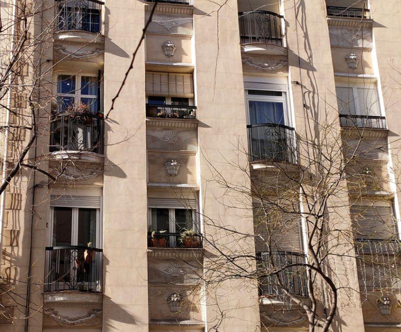 Ornamentos Zigzag Moderne en el Madrid Art Decó