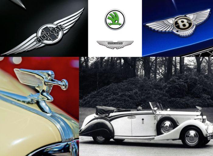 Alas en el Art Decó, símbolo de velocidad en Streamline Moderne
