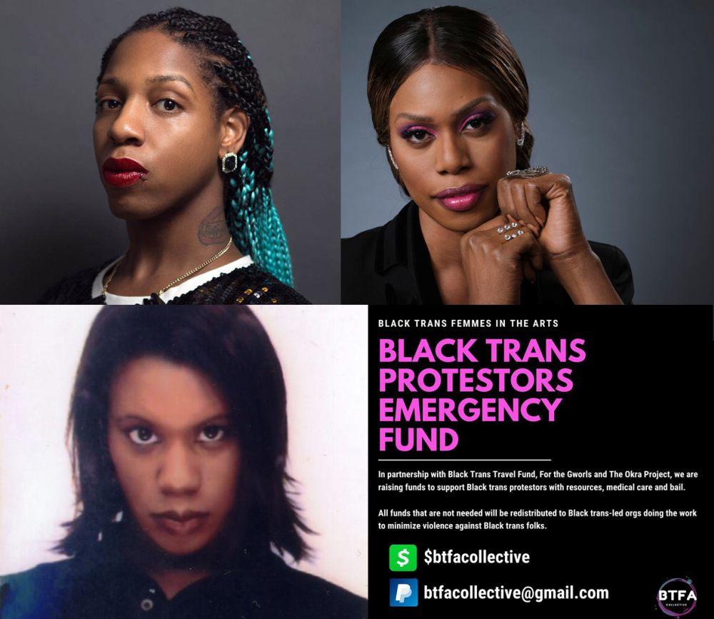 Black Trans Lives Matter, conexión entre Laverne Cox, Jordana LeSesne y SOPHIE