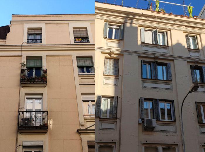 Edificios del Madrid Art Decó en Bretón de los Herreros