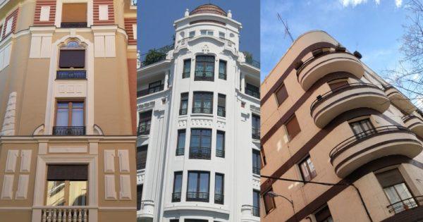Edificios del Madrid Art Decó en Chamberí