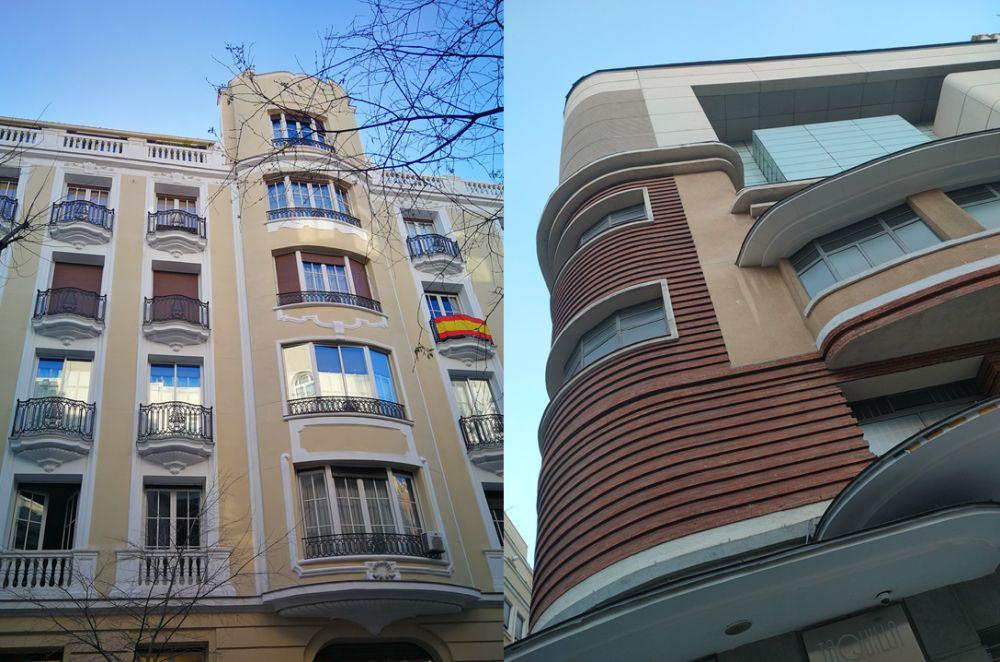 Edificios del Madrid Art Decó que tiene Chamberí