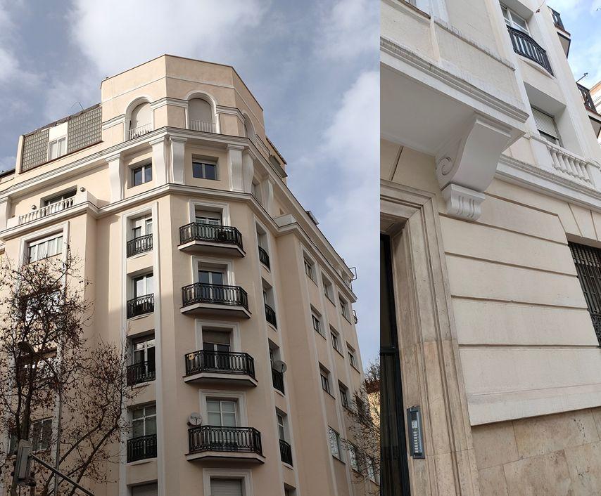 Elegante Madrid Art Decó en la calle Abascal