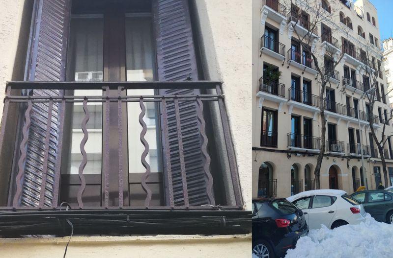 Líneas onduladas en el Madrid Art Decó de Espronceda