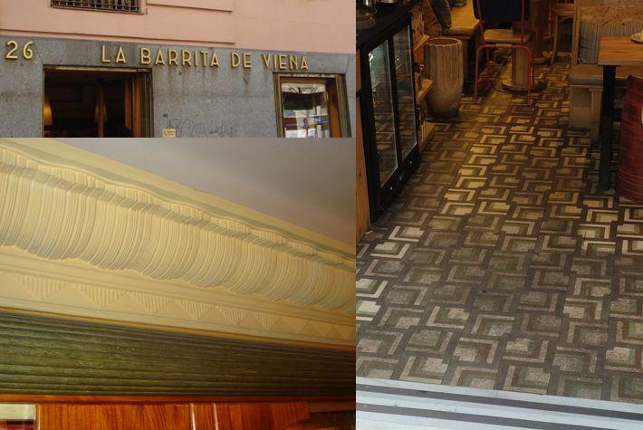 La Barrita de Viena, semi desaparecido Madrid Art Decó