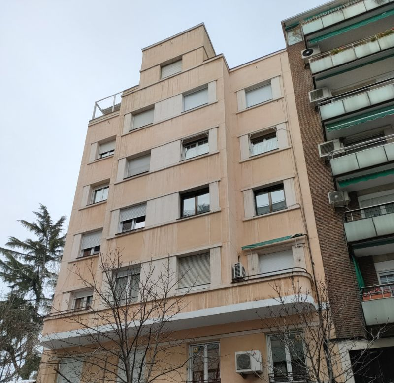 Madrid Art Decó Streamline Moderne en calle Cristóbal Bordiú