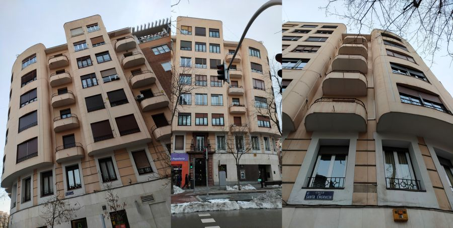 Madrid Art Decó Streamline Moderne en calle Santa Engracia