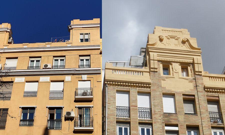 Madrid Art Decó Zigzag Moderne en barrio Ríos Rosas