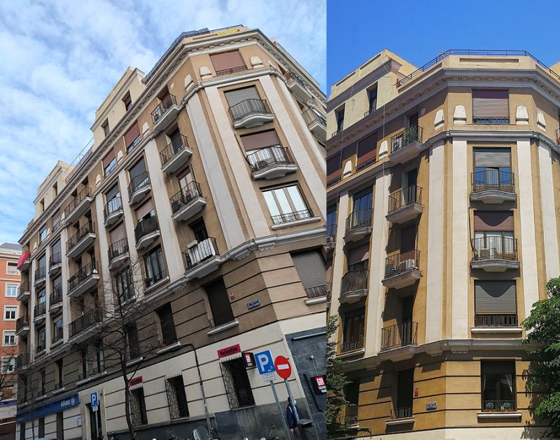 Madrid Art Decó Zigzag Moderne en calle Cristóbal Bordiú