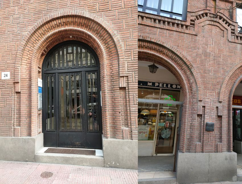 Madrid Art Decó Zigzag Moderne en ladrillo visto
