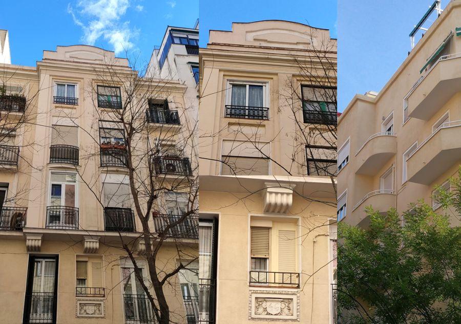 Madrid Art Decó Zigzag y Streamline Moderne en la calle Ponzano