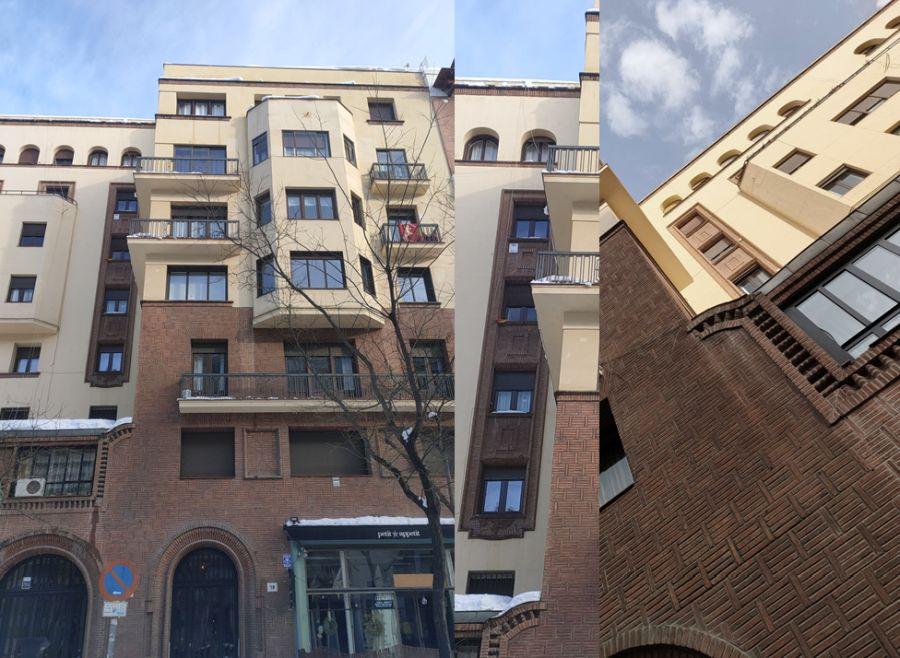 Madrid Art Decó con nieve de enero 2021