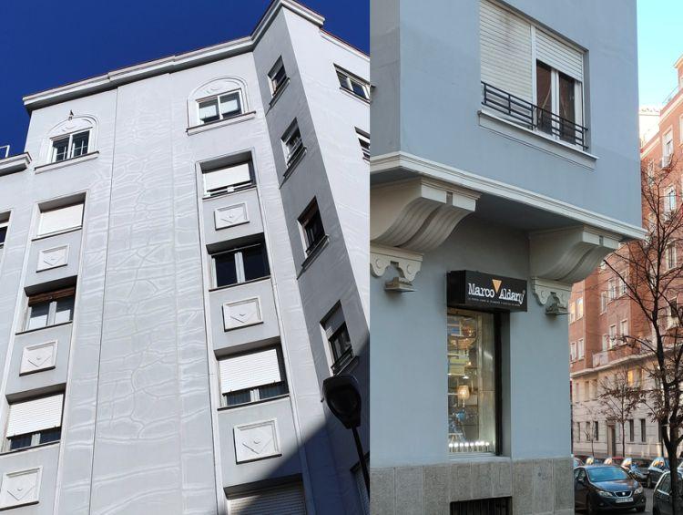 Madrid Art Decó en la calle Bretón de los Herreros