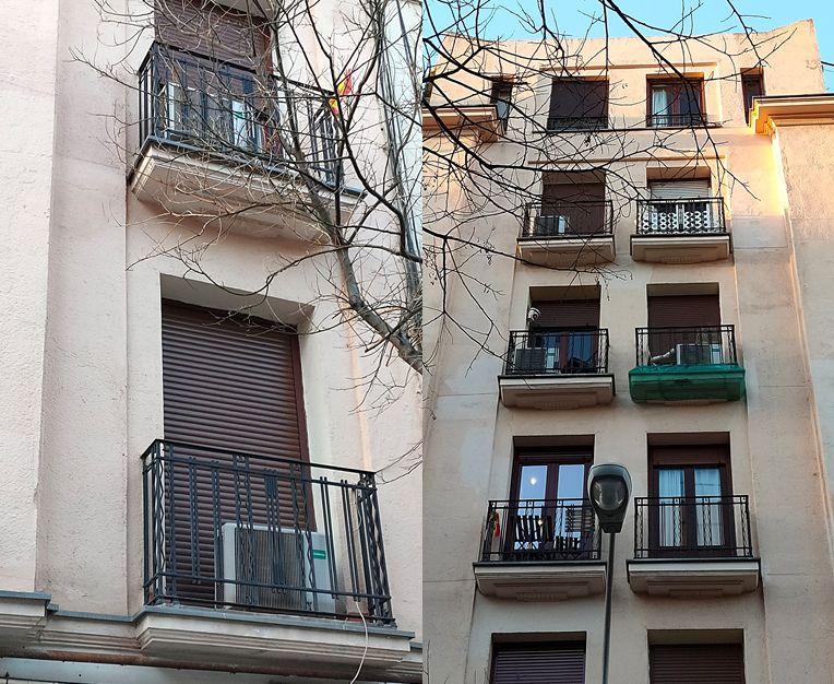 Arquitectura Art Decó en la calle García de Paredes 33