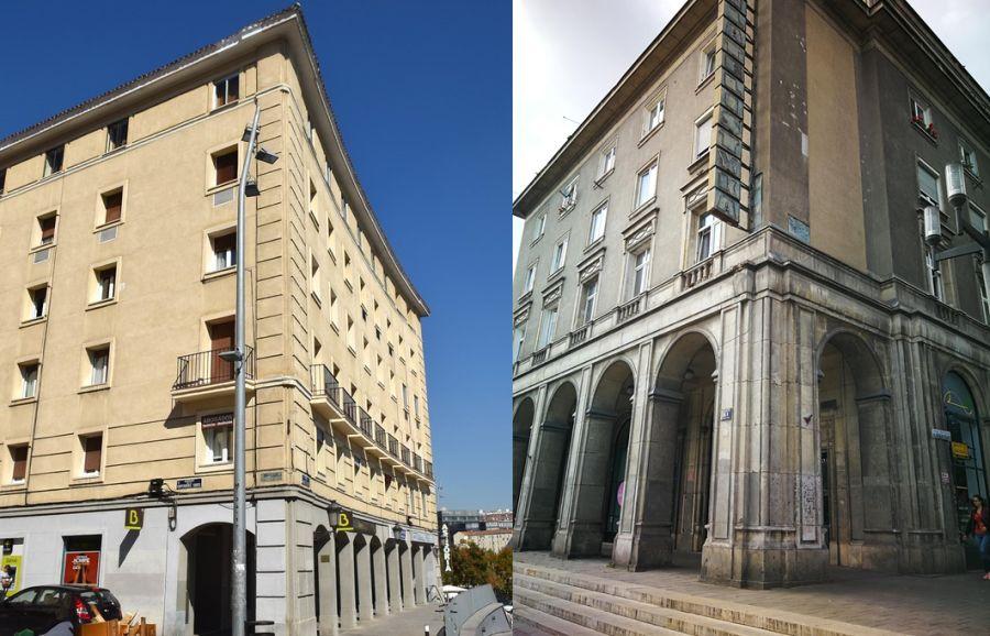 Arquitectura de la URSS versus la franquista
