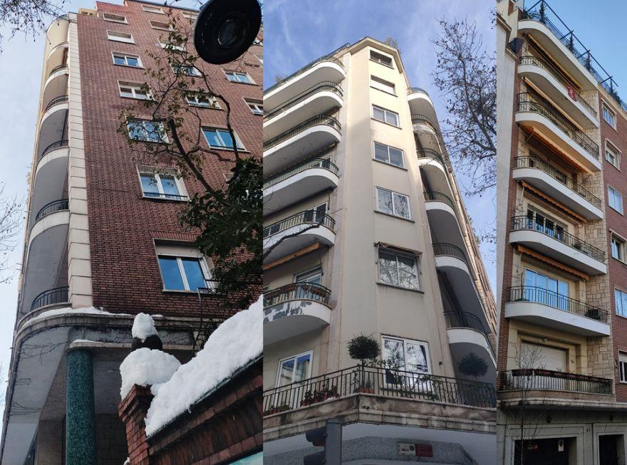 Art Decó Streamline Moderne en el paseo de Martínez Campos