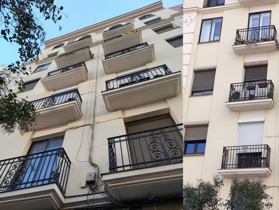 Avenida Reina Victoria 5 cuenta con detalles Art Decó