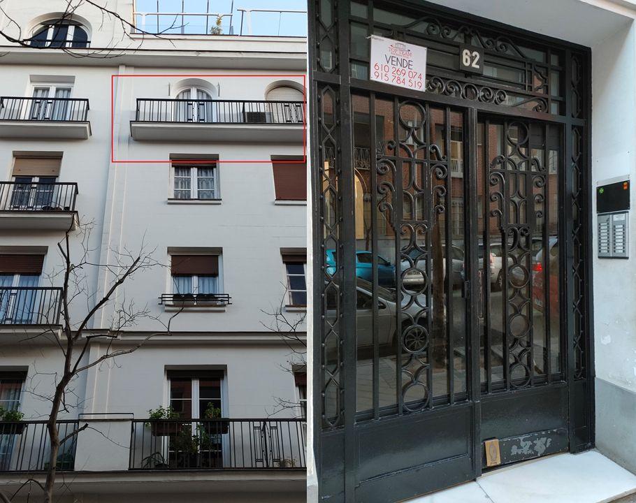 Barandillas y forjas Art Decó en la calle García de Paredes