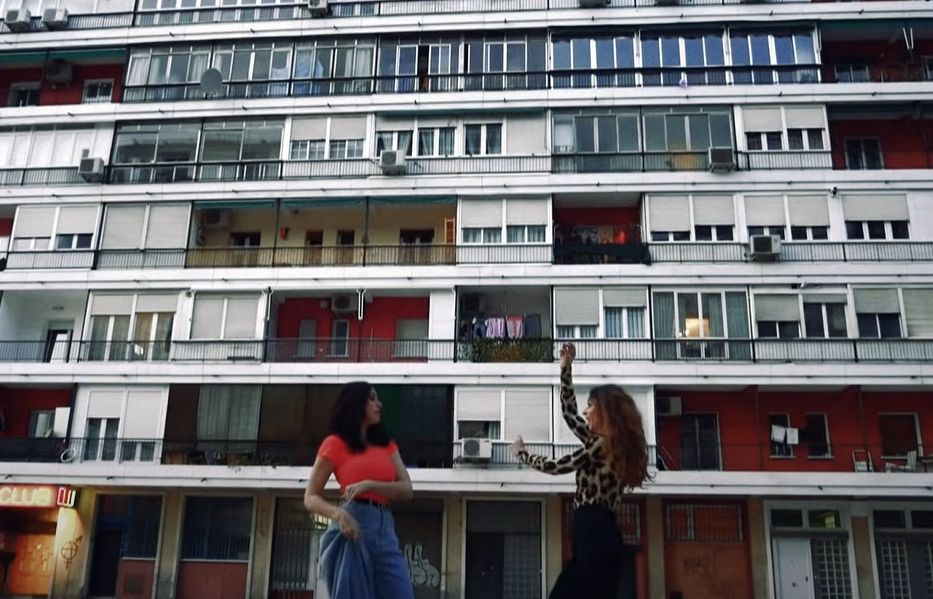 Barrio de la Concepción en Te espero en jarra de María Peláe y Sandra Carrasco