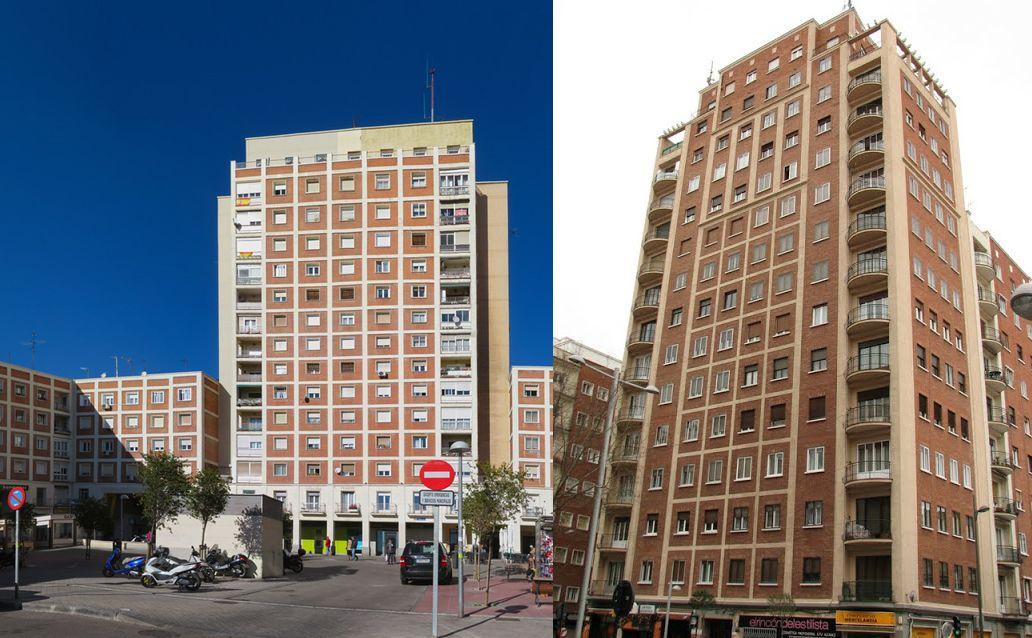 Barrio de la Concepción y la Torre de Salamanca