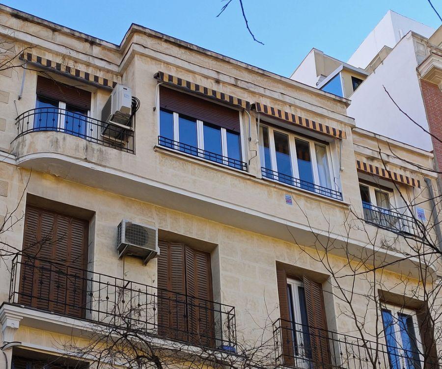 Calle Fernández de la Hoz 6 es Madrid Art Decó Streamline Moderne