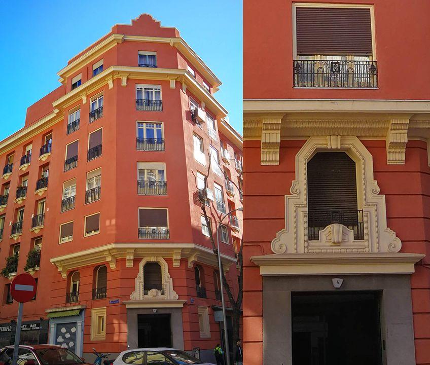 Calle Modesto Lafuente 4 es Madrid Art Decó