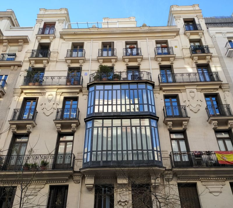 Calle Rafael Calvo 22 de Madrid