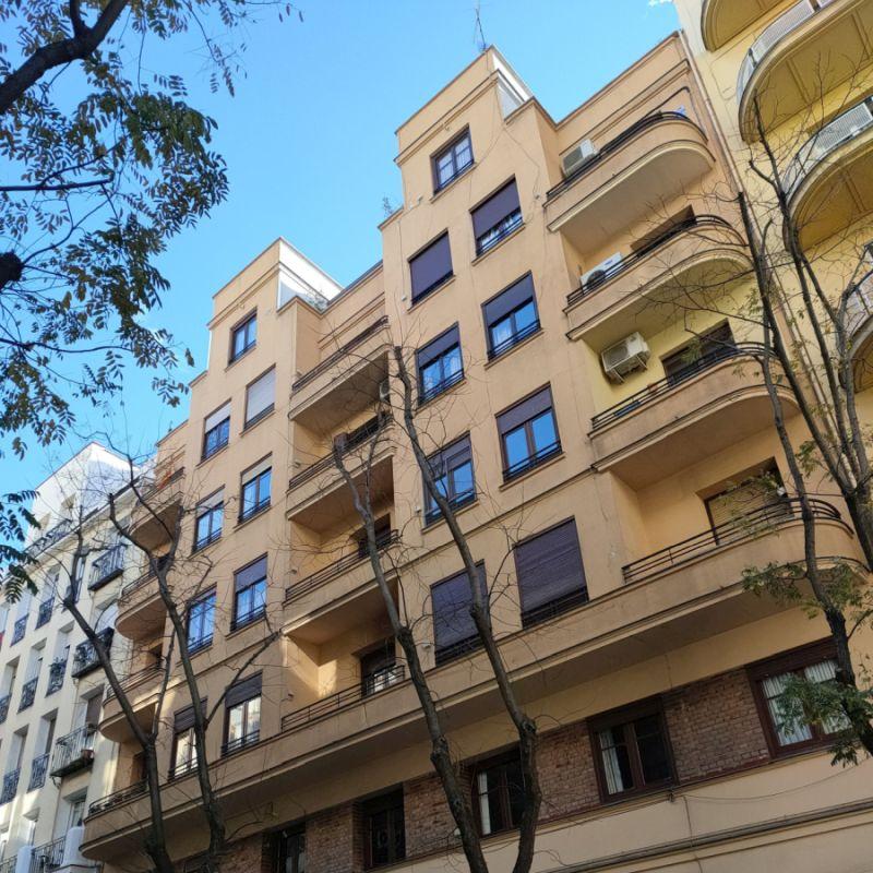 Calle Viriato 46 es arquitectura del Madrid Art Decó