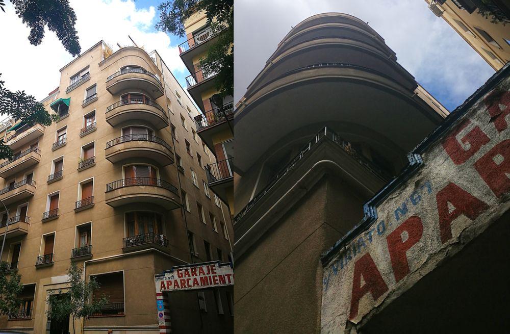 Calle Viriato 65 es Madrid Art Decó Streamline Moderne