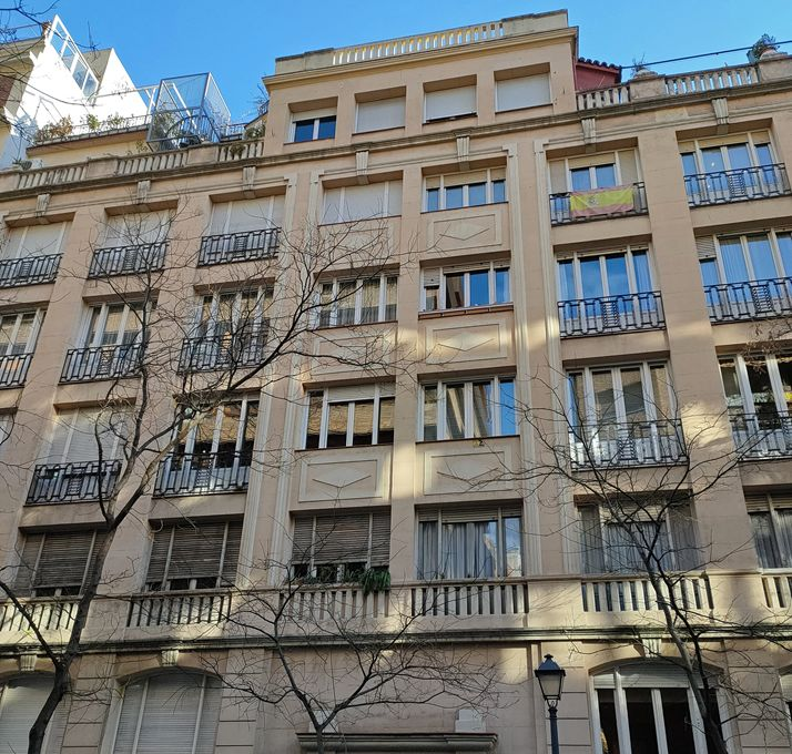 Calle Zurbano 58 es Madrid Art Decó