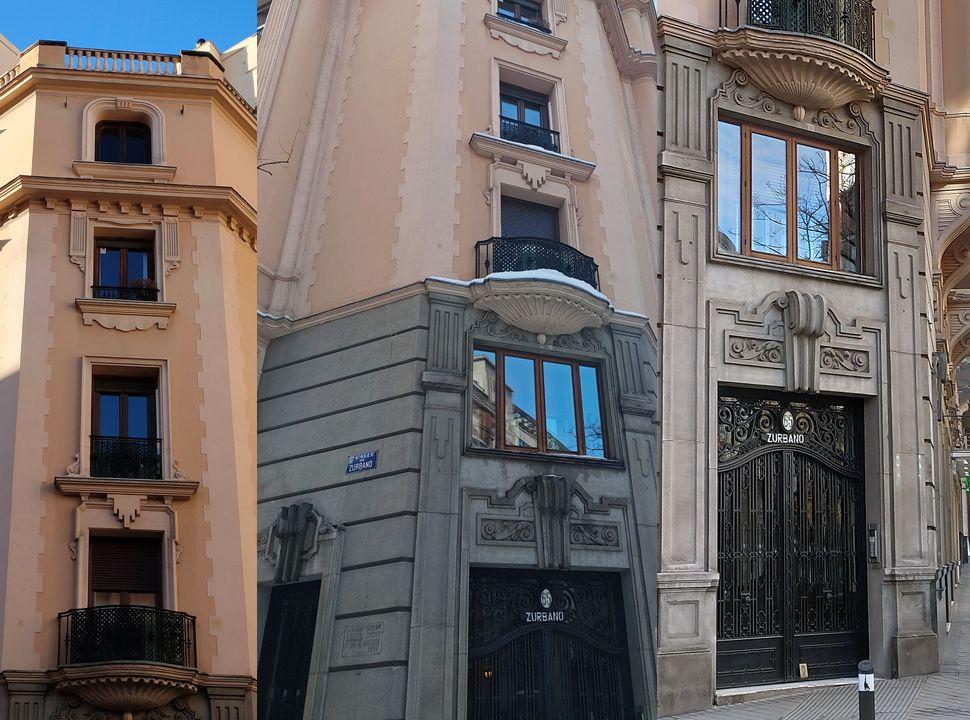 Calle Zurbano 65 es Madrid Art Decó