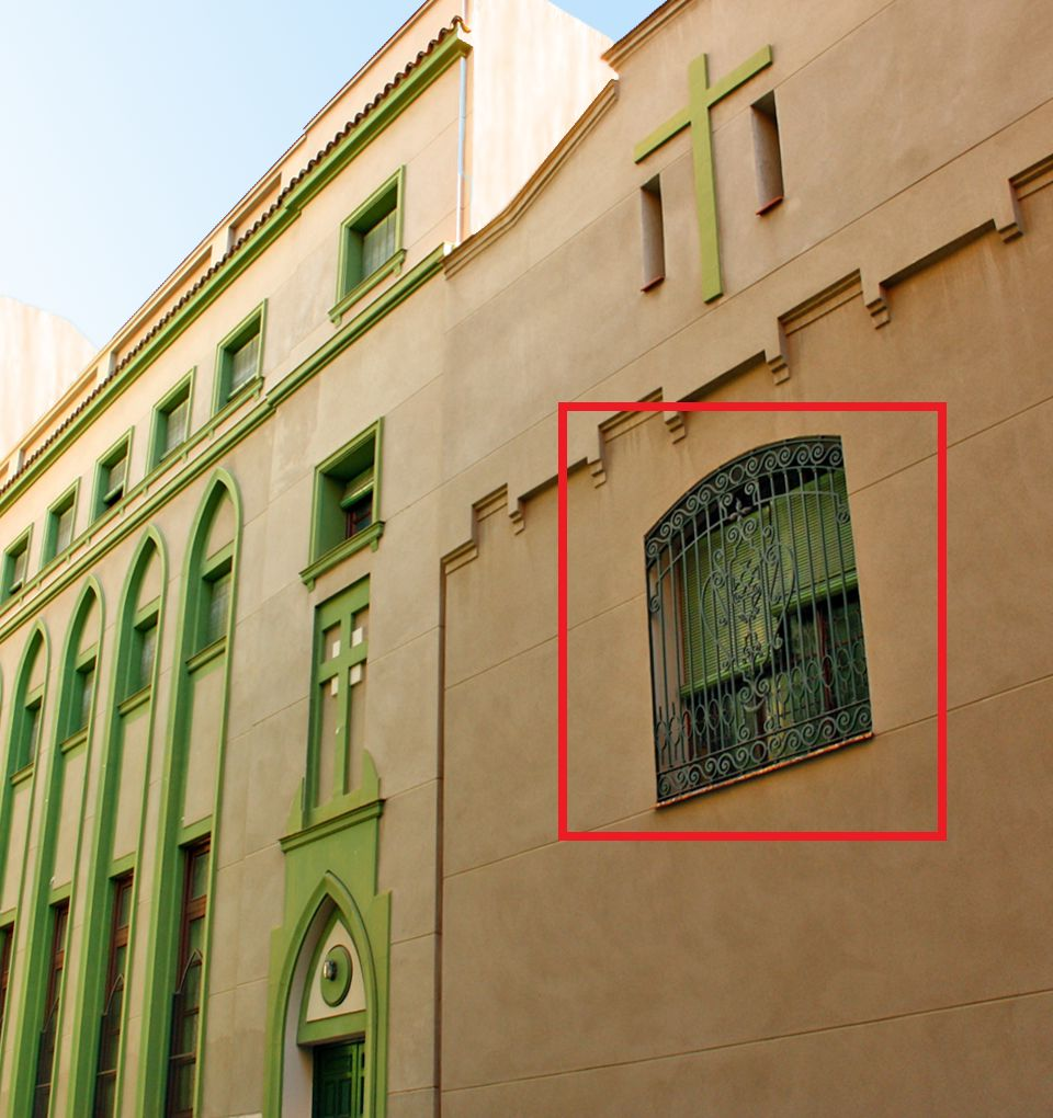 Convento de las Hermanas Celadoras Del Culto Eucarístico es Madrid Art Decó