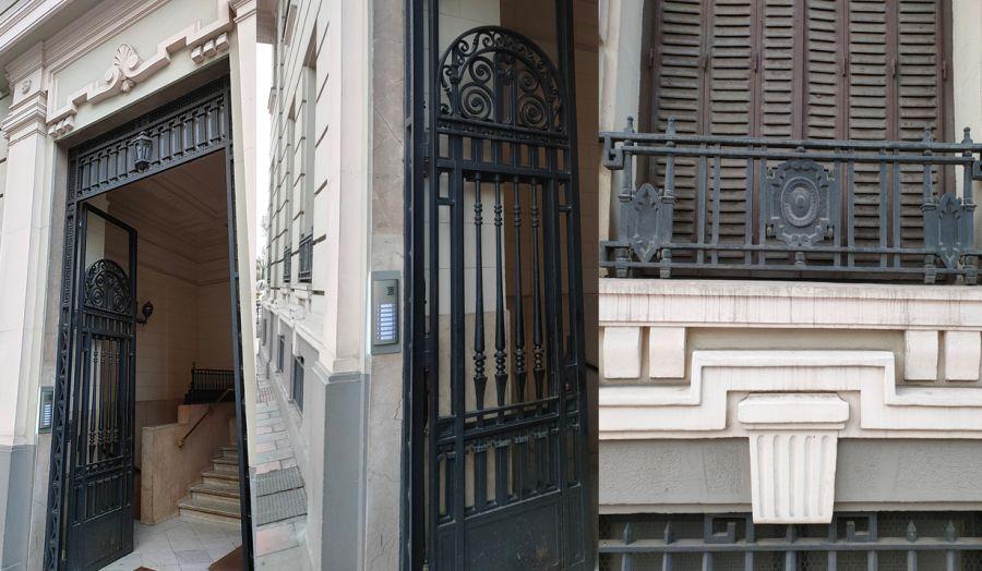 Detalles Art Decó en las Viviendas para Filomena Pellico