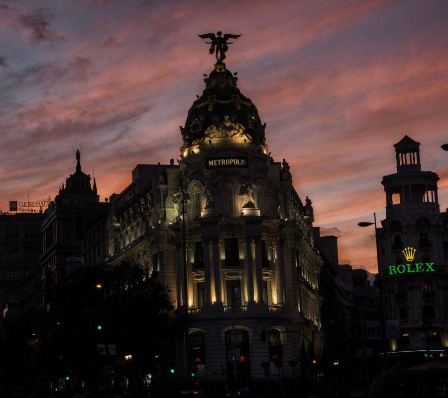 Edificio Metrópolis, emblema del Madrid del siglo XX