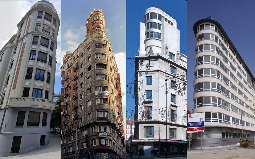 Edificios buque de Madrid