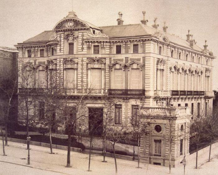 El desaparecido Palacio del Marqués de Portugalete en Madrid