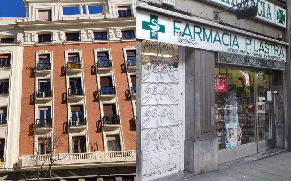Farmacia Lastra Alonso es Madrid Art Decó