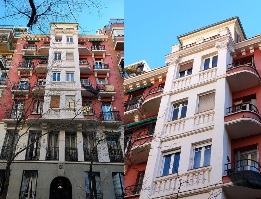 Fernández de la Hoz 38 es Madrid Art Decó Streamline Moderne