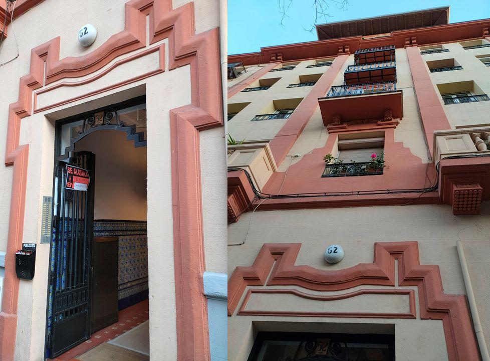 García de Paredes 52 es Madrid Art Decó regionalista
