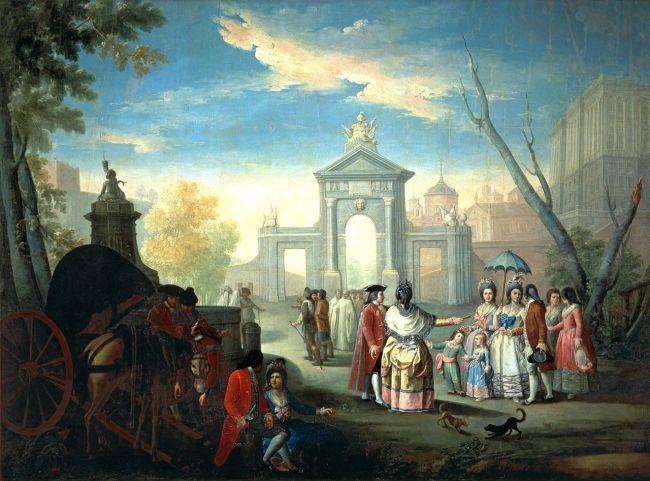 Historia de la Puerta de San Vicente en Madrid