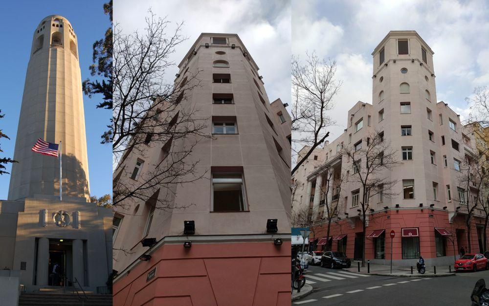 La Coit Tower de Madrid