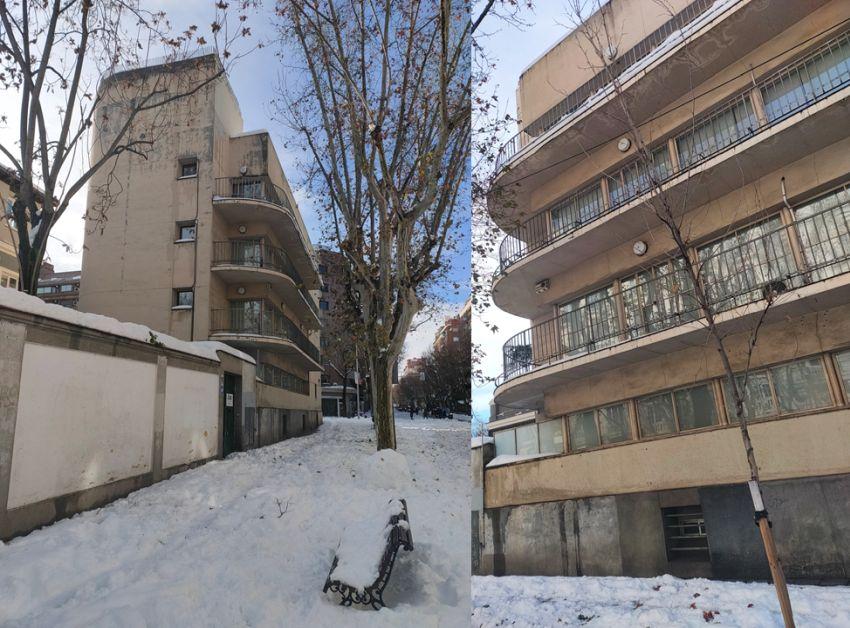 La Residencia de Señoritas es Madrid Art Decó Streamline Moderne