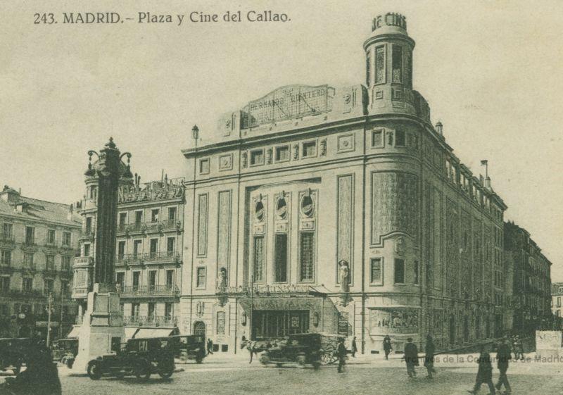Los Cines Callao con vidrieras originales