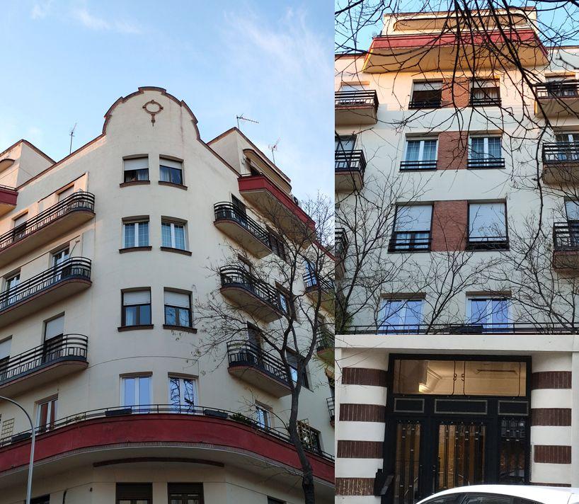Madrid Art Decó Streamline Moderne en García de Paredes 35