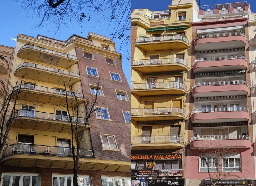 Madrid Art Decó Streamline Moderne en Santa Engracia y Viriato
