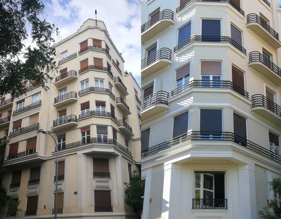 Madrid Art Decó Streamline y Zigzag Moderne en Fernández de la Hoz