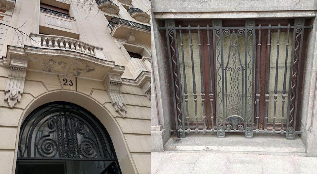 Madrid Art Decó Zigzag Moderne en Almagro 21